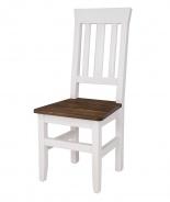Masivní jídelní židle SKN 04 - výběr moření