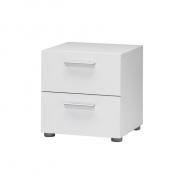 Noční stolek, bílý, PEPE 70070