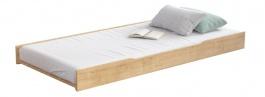 Přistýlka 90x200cm k posteli a pohovce 2v1 Cody - dub světlý