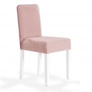 Čalouněná židle Mary - růžová