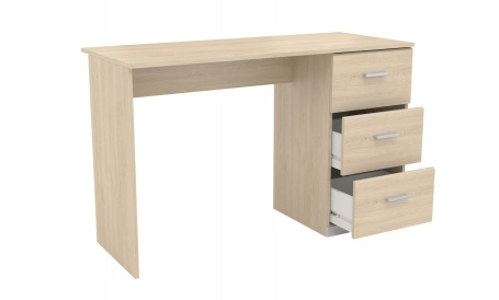 Psací stůl s šuplíky dub brooklyn
