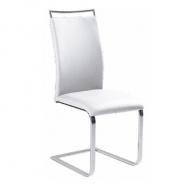 Jídelní židle, bílá, BARNA NEW