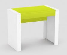Psací stůl REA Jamie - zelený šuplík