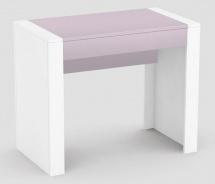 Psací stůl REA Jamie - růžový šuplík