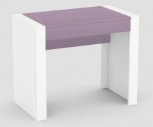 Psací stůl REA Jamie - šuplík tmavě růžový