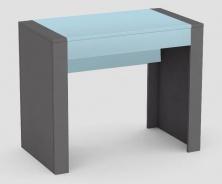 Psací stůl REA Jamie - šuplík světle modrý