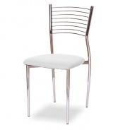 Jídelní židle, bílá, ZAIRA