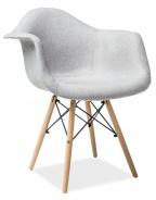 Jídelní židle BONO šedá