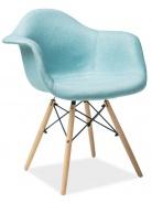 Jídelní židle BONO mentolová