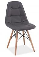 Jídelní židle AXEL šedá