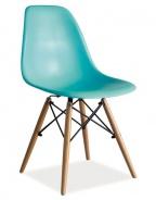 Jídelní židle ENZO mořská