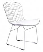Jídelní židle FINO chrom/bílá