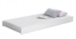 Přistýlka 90x200cm k posteli a pohovce 2v1 Pure - bílá