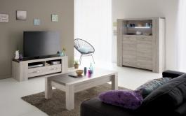 Obývací sestava Lordo - dub šedý