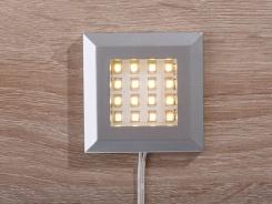 Jednobodové osvětlení k dřevěným policím