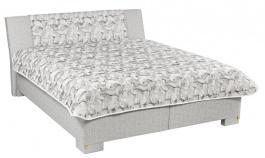 Čalouněná postel LEONTÝNA deLuxe 160,180x200cm s úložným prostorem