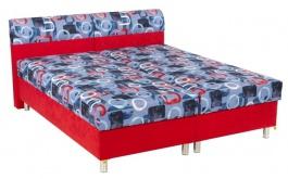 Čalouněná postel PAMELA 160,180x200cm s úložným prostorem
