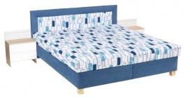 Čalouněná postel JITKA 160,180x200cm s úložným prostorem