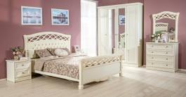 Ložnice Jasmine - krémová