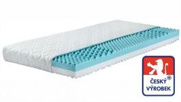 Sendvičová matrace Odette - 2 tuhosti - třívrstvý antibakteriál. potah - 7 zón