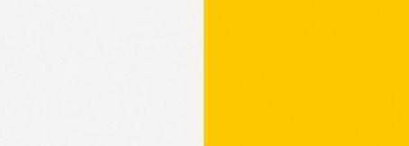 bílý lux/žlutá