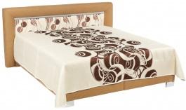 Čalouněná postel ŠARLOTA deLuxe 160,180x200 cm