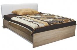 Manželská postel s úložným prostorem REA Saxana Up 160x200 cm - výběr barev