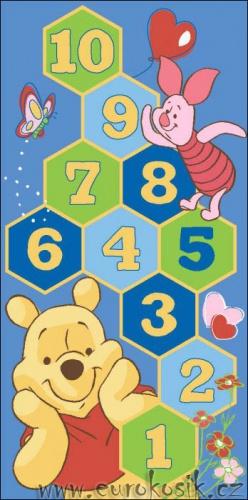 Dětský koberec Disney Pů Winnie Hopscotch