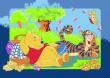 Dětský koberec Disney medvídek Pů Winnie´s Picnic