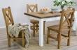 Dřevěný selský stůl 80x140 MES 13 B