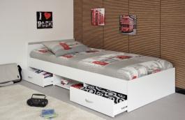 Dětská postel Alpha - bílá