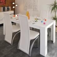 Jídelní stůl Mauro - bílá