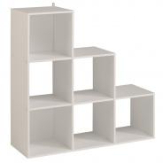 Regál Cubi 9 - bílá