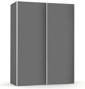 Vysoká šatní skřín REA Houston up 1 - graphite