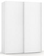 Vysoká šatní skřín REA Houston up 1 - bílá