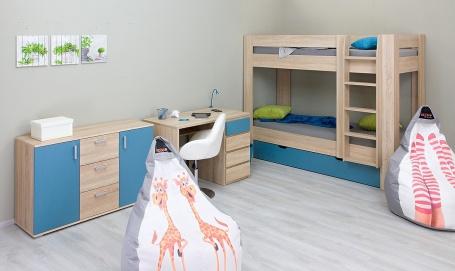 Dětský pokoj REA I pro dvě děti - výběr odstínů