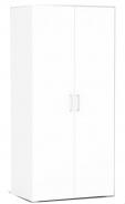 Šatní skříň REA Venezia 2D - bílá