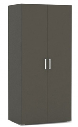 Šatní skříň REA Venezia 2D - graphite