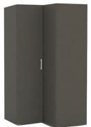 Rohová šatní skříň REA Venezia 5 - graphite