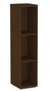 Úzký regál REA Store 30x124cm - wenge