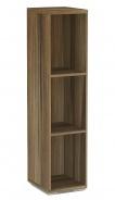 Úzký regál REA Store 30x124cm - ořech rockpile