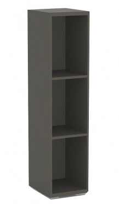 Úzký regál REA Store 30x124cm - graphite