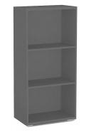Policový regál REA Store 60x124cm - graphite