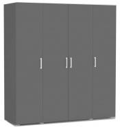 Šatní skříň REA Venezia 4 - graphite
