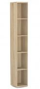 Úzký regál REA Store 30x200cm - dub bardolino