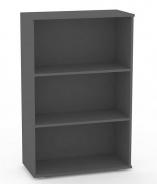 Policový regál REA Store 80x124cm - graphite