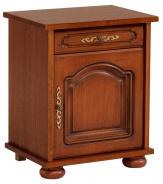 Noční stolek Carlos /otevírání vpravo/ - dub