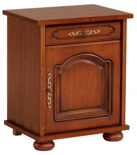 Noční stolek Carlos /otevírání vlevo/ - dub