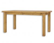 Dřevěný selský stůl 90x160 MES 13 B - moření