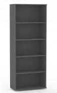 Policový regál REA Store 80x200cm - graphite